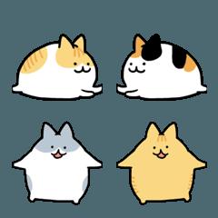 くっつき猫。絵文字2