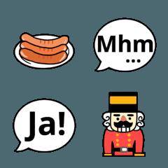 ドイツ語のあいづち絵文字