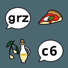 イタリア語の略語絵文字