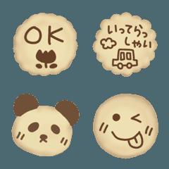 メッセージ入りクッキー
