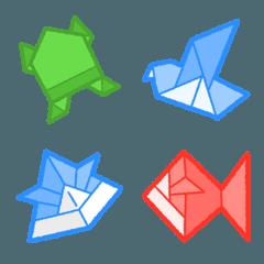 [ 折り紙 ] みんなの絵文字 基本セット