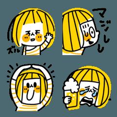 THEポップボブガールの絵文字 03