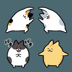くっつき猫。絵文字3