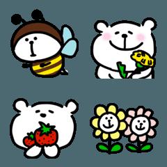 くまおの絵文字(春)