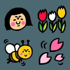 ザ・春に使える絵文字集