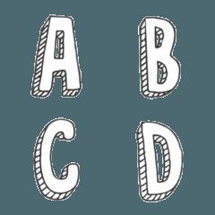 HANDMADE Tegaki Emoji