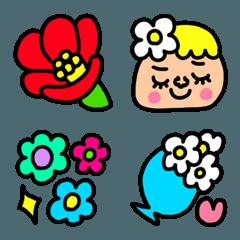 riekimのお花の絵文字