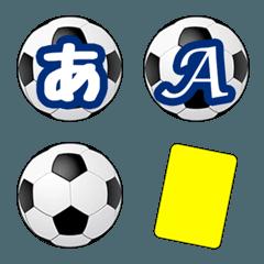 ◆全305種◆ サッカーボール絵文字&会話