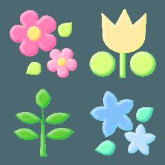 かわいいお花の絵文字9