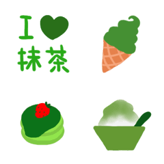 I♥抹茶スイーツ