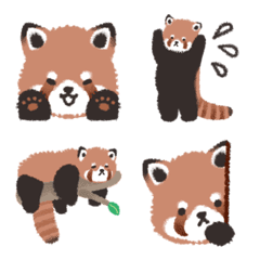 レッサーパンダのいる生活 絵文字