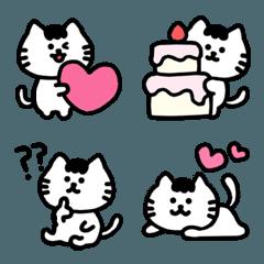 ネコのにゃんころ、ゆるかわ絵文字4