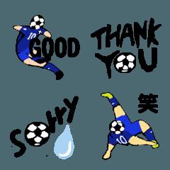 サッカー絵文字 Vol.1