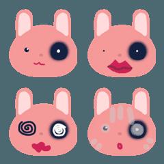 ピンク うさぎ