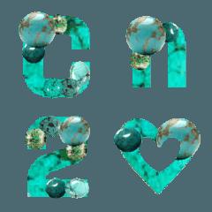 誕生石トルコ石(ターコイズ)