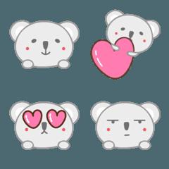 大人かわいいコアラの絵文字 Koala emoji