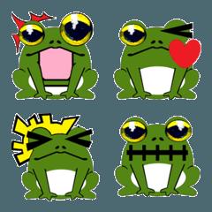 蛙(かえる)(絵文字)