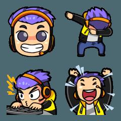 Awesome Gamer Emoji