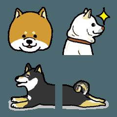 柴犬好きさんの為の絵文字【1】