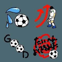 サッカー絵文字 Vol.2