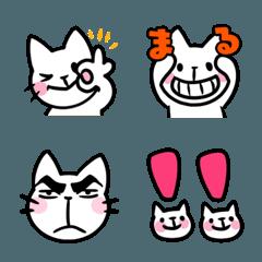 シンプルな猫の絵文字