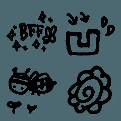 シンプル手書き絵文字 7