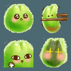 green peach