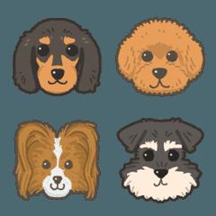 [ 犬 ] みんなの絵文字 基本セット