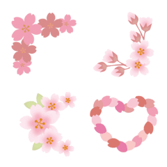 桜づくしの「かっこ」と「デコライン」