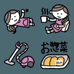ずぼら主婦のマイペースお気楽絵文字