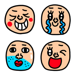 riekimの顔の絵文字セットパック