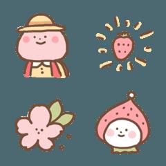 ピンクになる季節