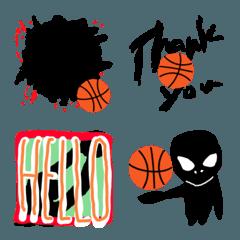 バスケットボール 絵文字 vol.2