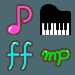 【音楽】音符記号の絵文字 music emoji