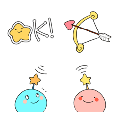 宇宙と星座のなかまたち絵文字