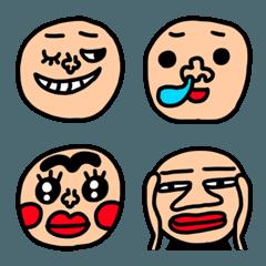 riekimの顔の絵文字2  セットパック