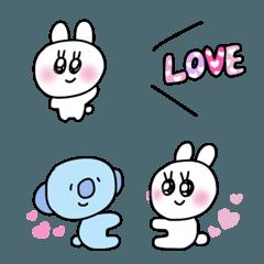 couple koala rabbit