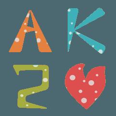 Dot Letters〜アルファベット〜