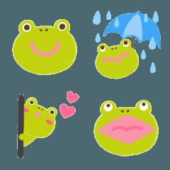 カエル絵文字