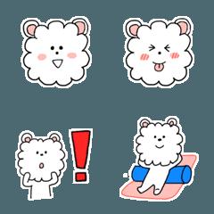白いふわふわクマ、第一弾『ほんわか日和』