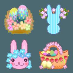 春のイースター絵文字