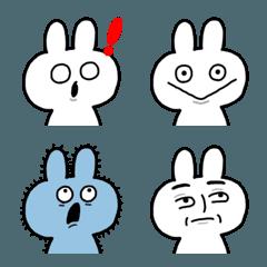 シュールでかわいい顔芸うさぎ(2)