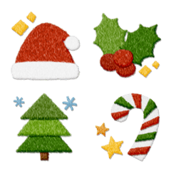 クリスマス絵文字 ぶたた仕立て