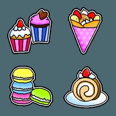 CAFEスイーツ&和菓子絵文字