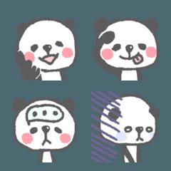 パンダなんです。クレヨンなんです。