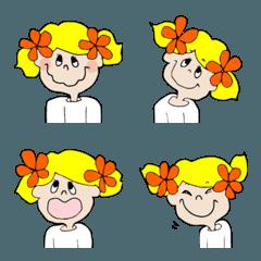 "little travelers ""Milli"" emoji"