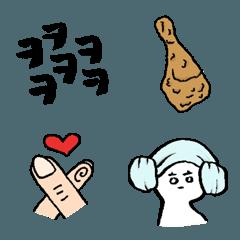 韓国好きのための絵文字
