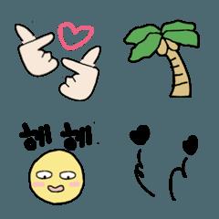 韓国系♡おしゃれ絵文字2