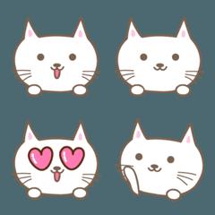 大人かわいいネコの絵文字 cat emoji