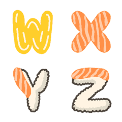 Sushi Letters